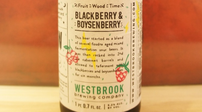 Westbrook Fruit/Wood/Time: Blackberry & Boysenberry