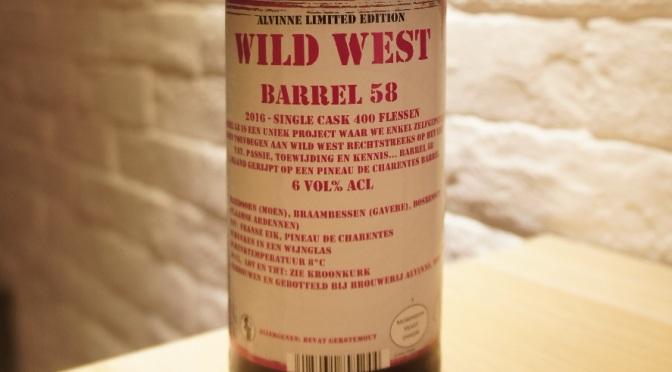 Alvinne Wild West Barrel 58