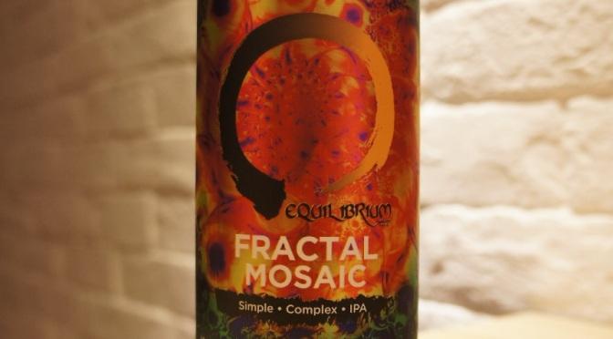 Equilibrium Fractal Mosaic