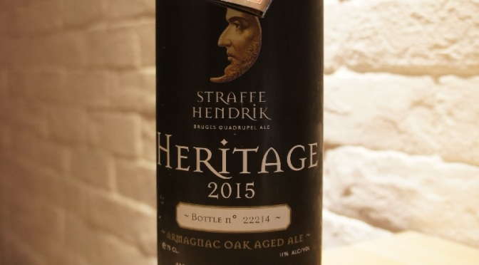 Straffe Hendrik Heritage 2015 Armagnac Oak Aged Ale
