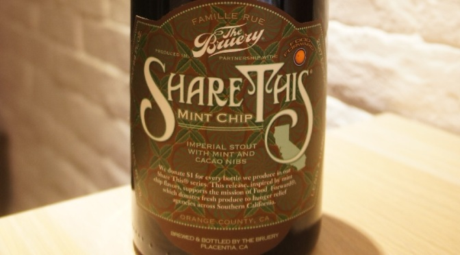 The Bruery Share This: Mint Chip
