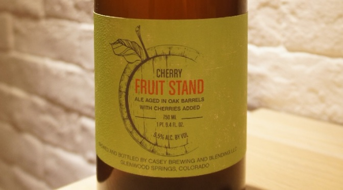 Casey Fruit Stand Cherry (Montmorency)