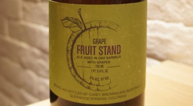 Casey Fruit Stand Grape (Viognier)