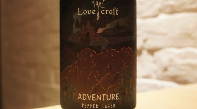H.K. Lovecraft Adventure Pepper Lager