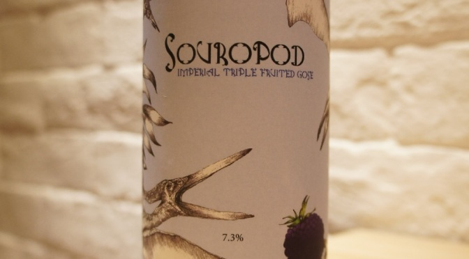 Staggeringly Good Souropod Imperial Triple Fruited Gose – Blackberry, Blackcurrant, Raspberry & Ginger