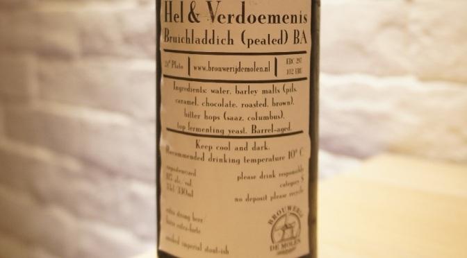 De Molen Hel & Verdoemenis Bruichladdich (peated) BA
