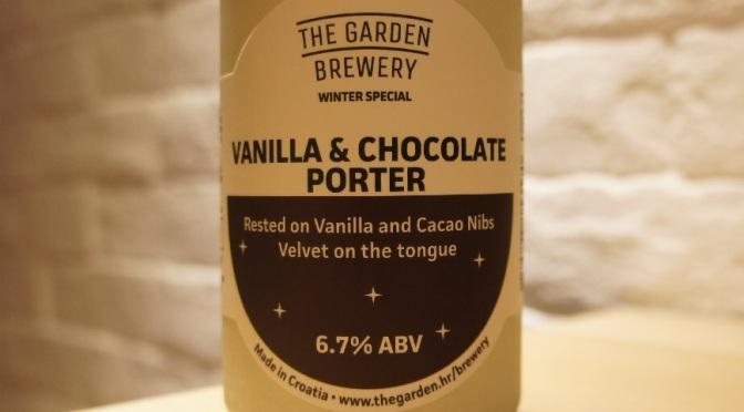 The Garden Vanilla & Chocolate Porter
