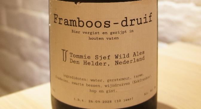 Tommie Sjef Framboos-druif