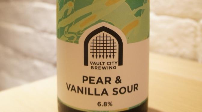 Vault City Pear & Vanilla Sour