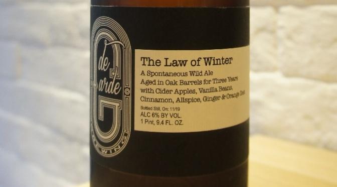 de Garde The Law of Winter