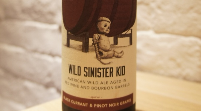 Trillium Wild Sinister Kid – Black Currant & Pinot Noir Grapes