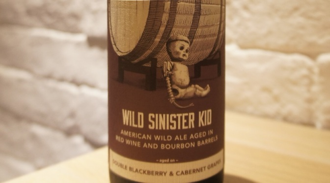Trillium Wild Sinister Kid – Double Blackberry & Cabernet Grapes