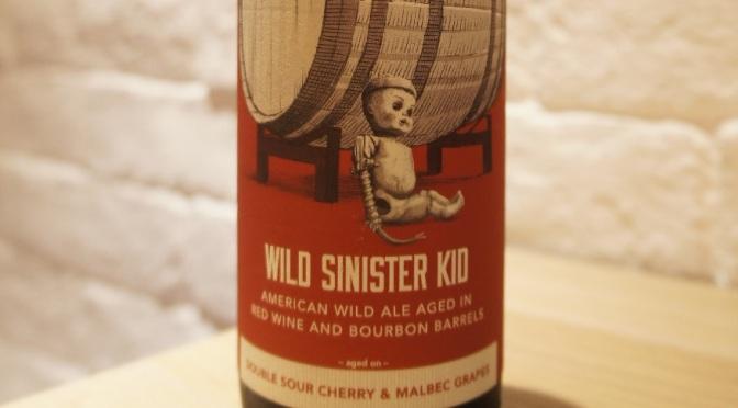 Trillium Wild Sinister Kid – Double Sour Cherry & Malbec Grapes