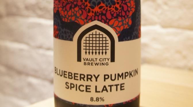 Vault City Blueberry Pumpkin Spice Latte