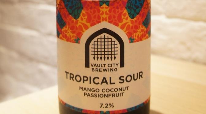 Vault City Tropical Sour – Mango Coconut Passionfruit