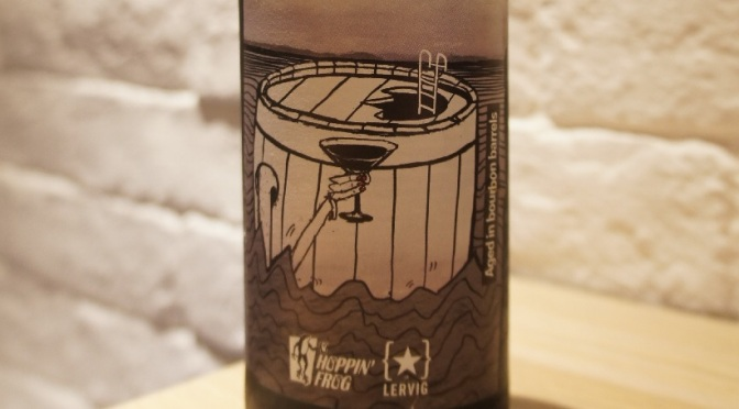 Lervig x Hoppin' Frog Sippin' Into Darkness Bourbon Barrel Aged