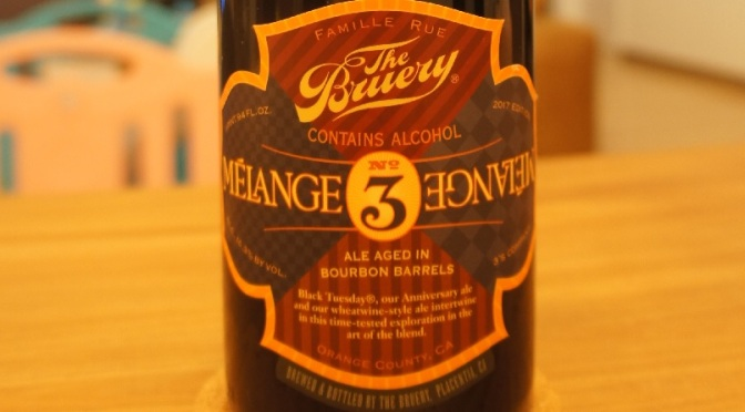 The Bruery Mélange No. 3
